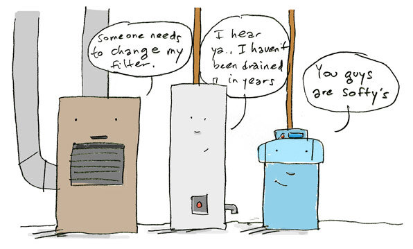 appliance cartoon