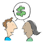 how to talk about money with spouse