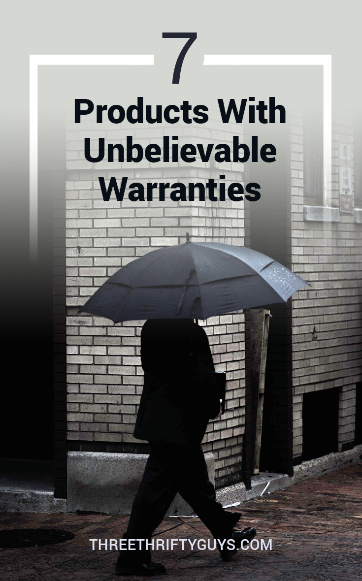 products with amazing warranties