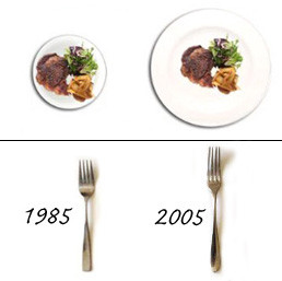 Increase in plate sizes