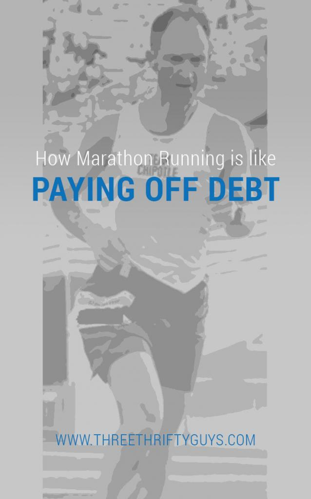paying off debt is a marathon