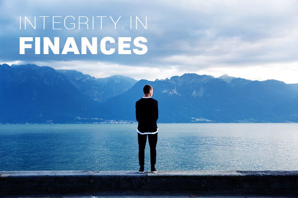 having integrity in finances