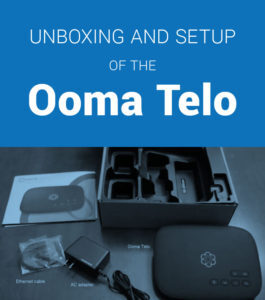 ooma telo unboxing and setup