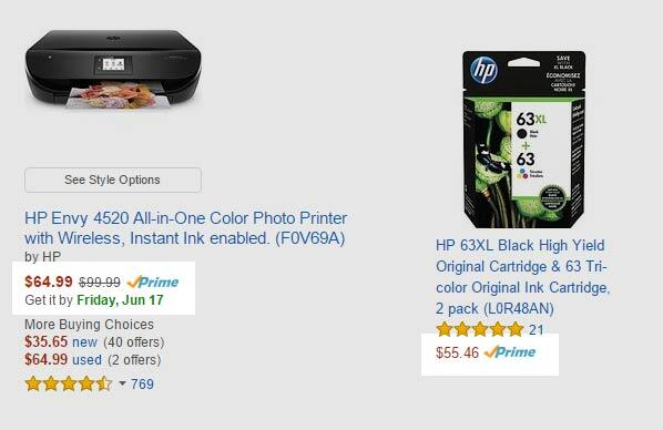 Ink costs as much as the printer itself