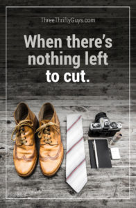 nothing left to cut