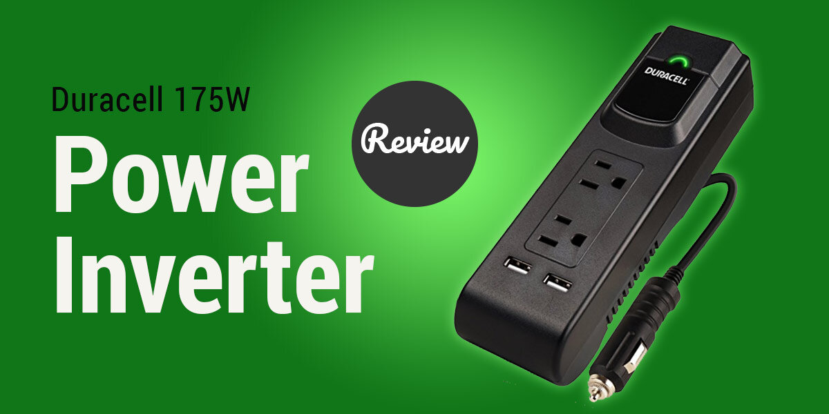 Duracell 175W power inverter review