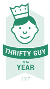 Thrifty guy of the year