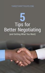 better negotiating