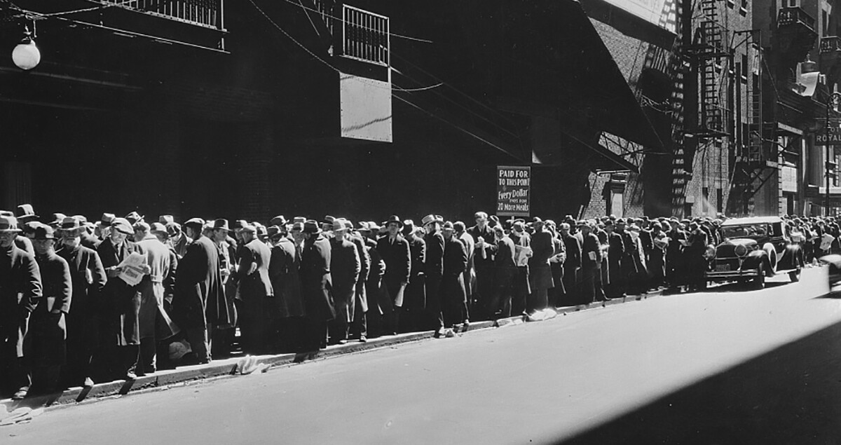 Great depression picture